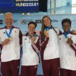 Uszonyosúszó-világbajnokság: Két arany, egy bronz