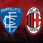 Empoli – AC Milan: Élő közvetítés