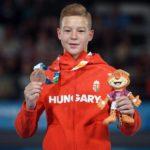 Balázs Krisztián bronzérmet nyert nyújtón