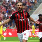 """Higuaín: """"A Milanban megtaláltam azt, amit kerestem"""""""