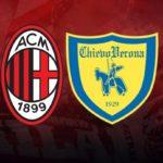 Milan-Chievo: Élő közvetítés