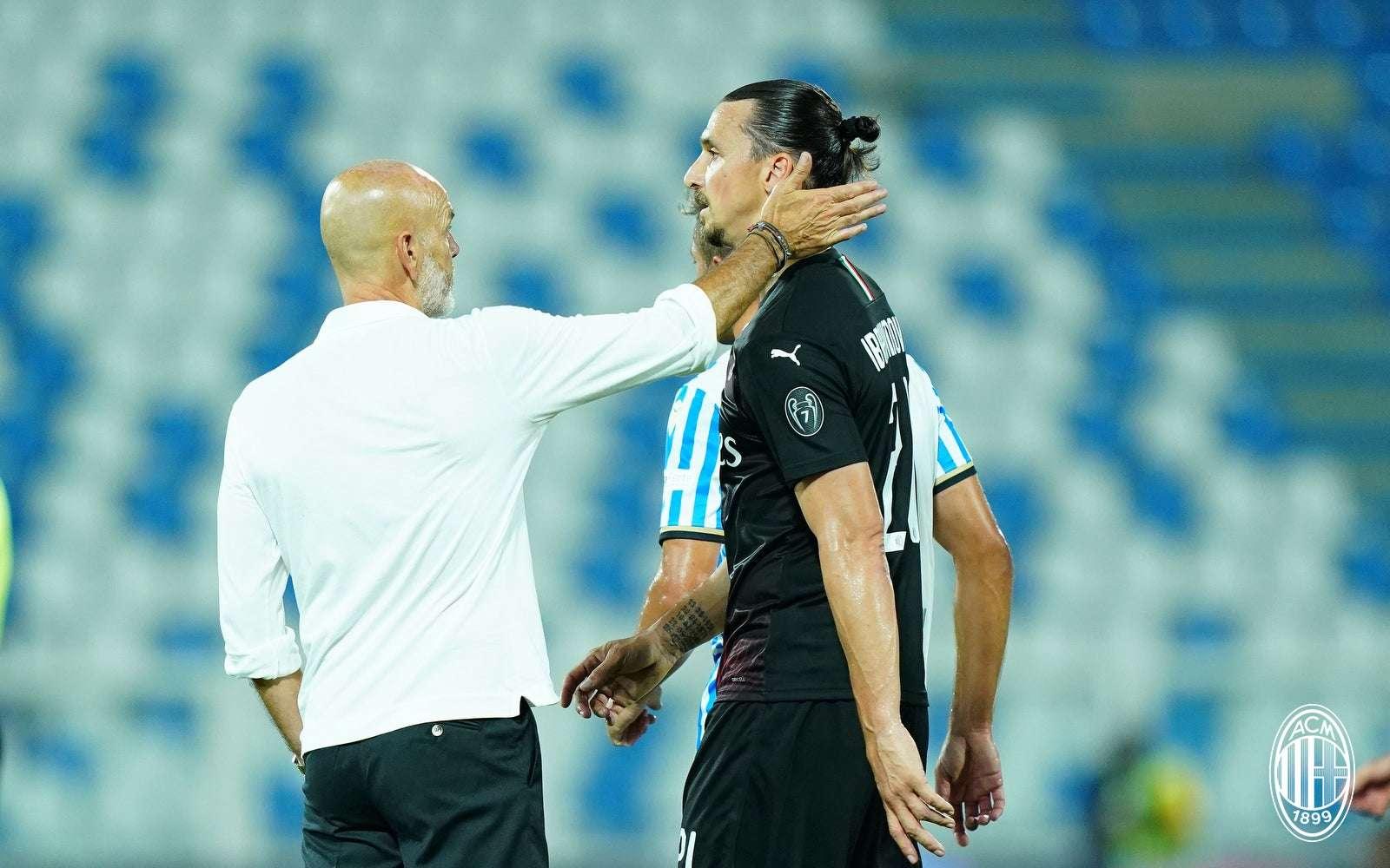 """Pioli: """"Ez az eredmény visszalépés a Milannak"""""""